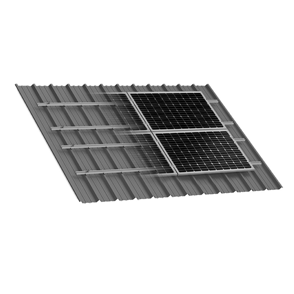 Xpressrail System L 225 Mina Trapezoidal Curso Energ 237 A Solar