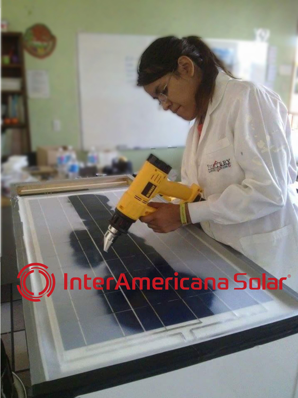 Curso de Fabricación de paneles soalres en México