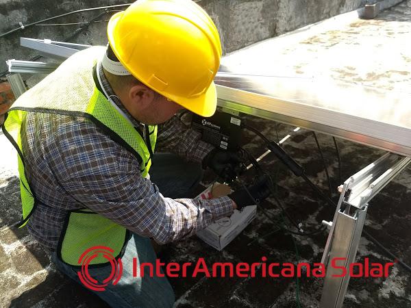 Curso de Sistemas Fotovoltacios en la Ciduad de México 7